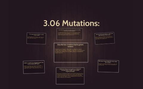 3.06 mutations essay