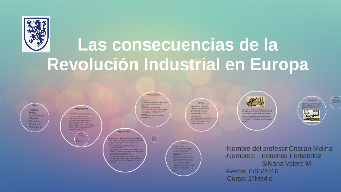 Las Consecuencias De La Revolucion Industrial En Europa By Rominna Fernandez