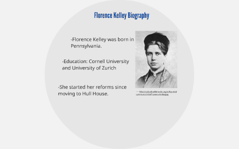 florence kelley early life