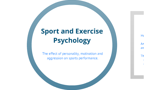 effects of personality on sports performance