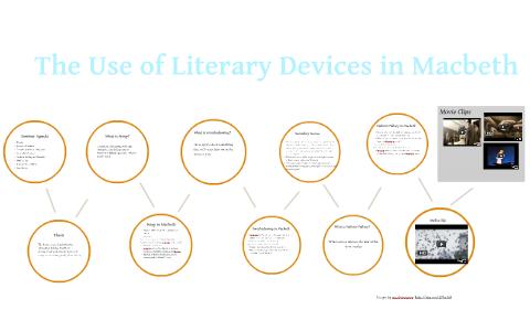 literary techniques in macbeth