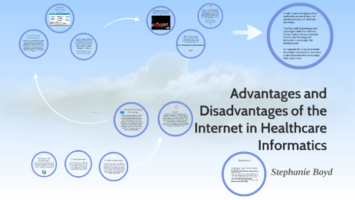 Advantages and Disadvantages of the Internet in Healthcare I by