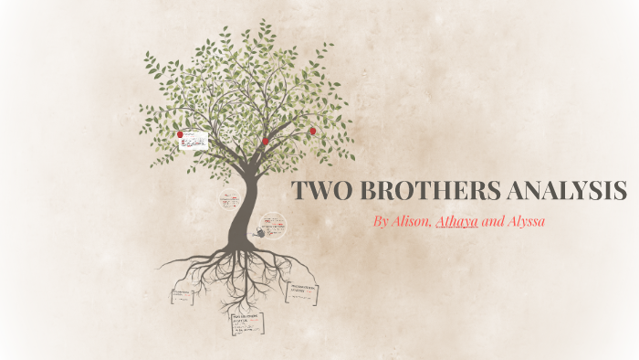the two brothers analysis