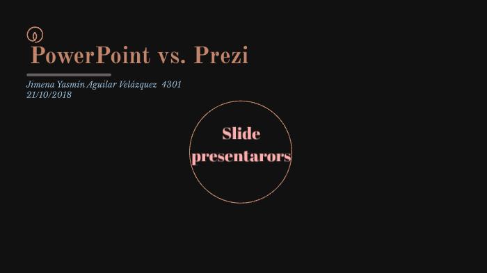 PowerPoint vs  Prezi by Jimena yasmin Aguilar velazquez on