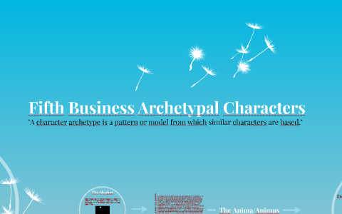 Fifth Business Archetypal Characters by Brittany Denommee on