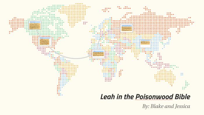leah price poisonwood bible