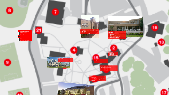 Copy of Campus Map - Maryville University by Crystal
