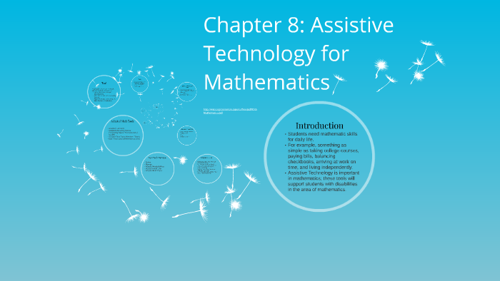 Chapter 8: Assistive Technology for Mathematics by Alexandra