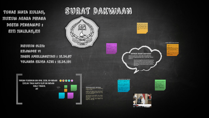 Surat Dakwaan By Hardi Aprilliansyah On Prezi