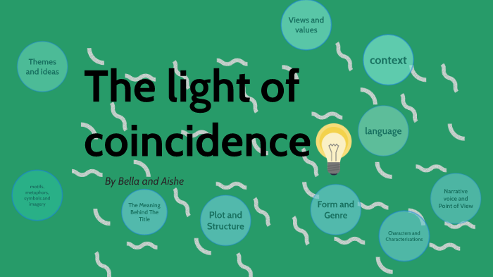 The light of coincidence by bella walsh on Prezi Next