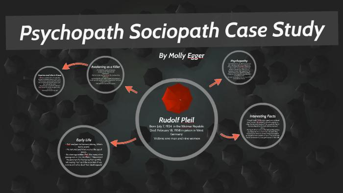 Psychopath Sociopath Case Study: Rudolf Pleil by Molly Egger