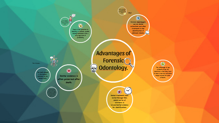 Advantages Of Forensic Odontology By Vivian Phuah