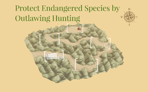 protect endangered species by outlawing hunting