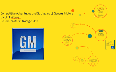 Compeive Advantages And Strategies Of General Motors By Clint Whalen On Prezi