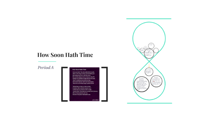 how soon hath time analysis