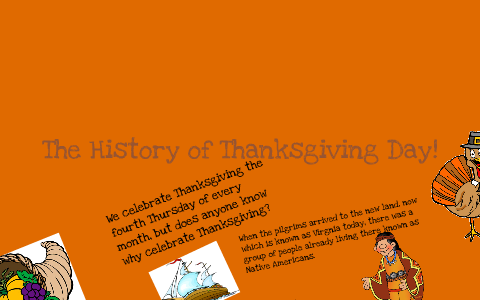 History of Thanksgiving day Presentation by Briana Nickelson