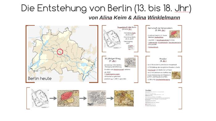 Entstehung Berlins