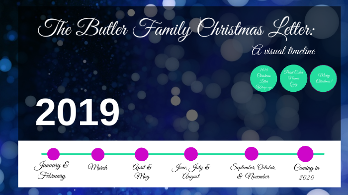 Christmas Letter 2020 Butler Family Christmas Letter 2020 by Michael Butler