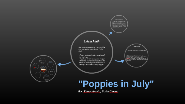 poppies in july poem