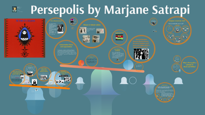 Persepolis By Marjane Satrapi By Ren C