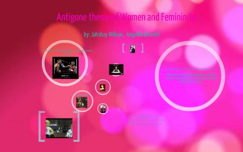 role of women in antigone