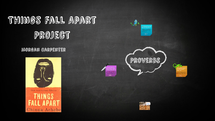 ibo proverbs in things fall apart