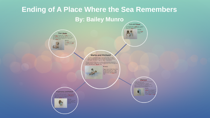 a place where the sea remembers