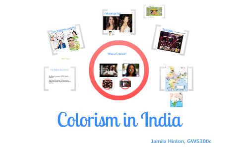 Colorism in India by Jamila Hinton