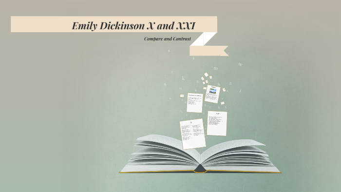 Emily Dickinson X and XXI by Lauren Dean on Prezi