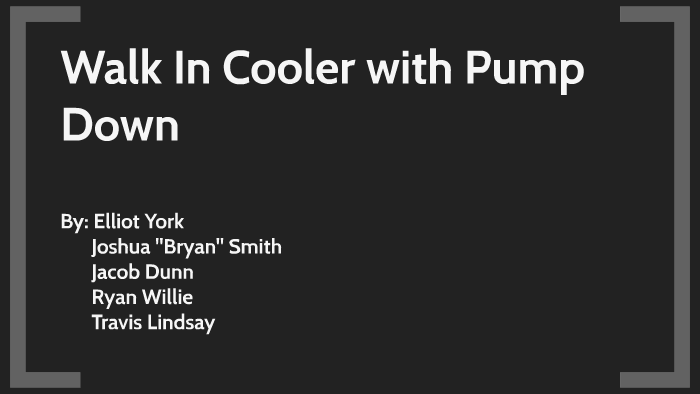Walk In Cooler with Pump Down by Jacob Dunn on Prezi Walk In Freezer Wiring Diagram Pump Down on
