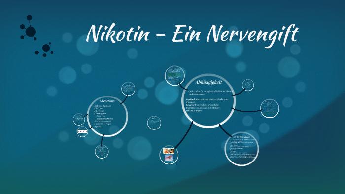 Nervengift Nikotin