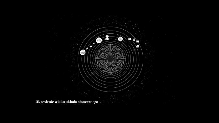 datowanie radiometryczne najstarszych meteorytów