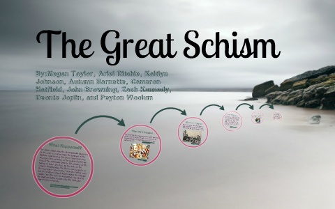 what was the major cause of the great schism