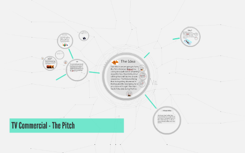 Tv Commercial The Pitch By Jamie Guy On Prezi