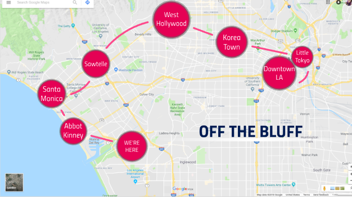 Lafc Subway Map.Off The Bluff By Kaelyn Do On Prezi Next