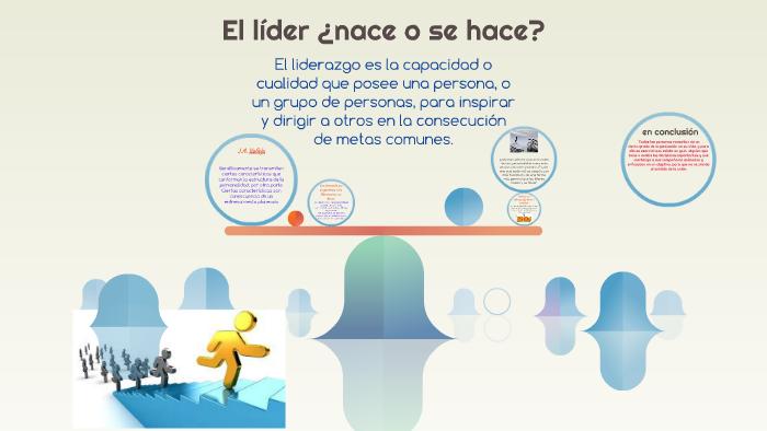 El Líder Nace O Se Hace By Mario Quintero