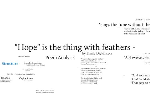 hope poem analysis