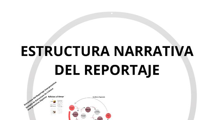 Estructura De Reportaje Interpretativo By Percy Peña Vicuña