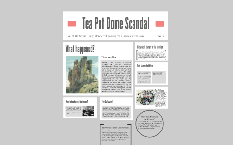Tea Pot Dome Scandal By Gaby Garcia On Prezi