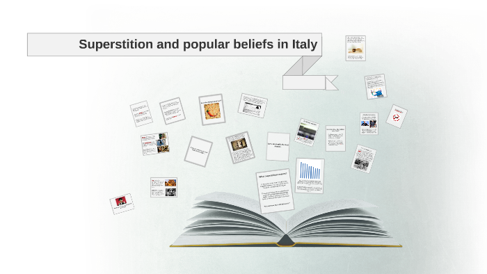 Superstition and popular beliefs in Italy by Giulia Garello