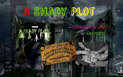 a shady plot by elsie brown full story