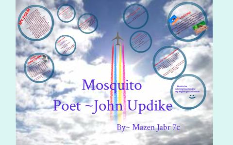 mosquito john updike