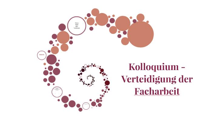 Facharbeit Kolloquium By Sarah Mitschke On Prezi