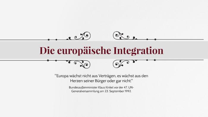 Der Vertrag Von Maastricht 07021992 By Jana Knarr On Prezi