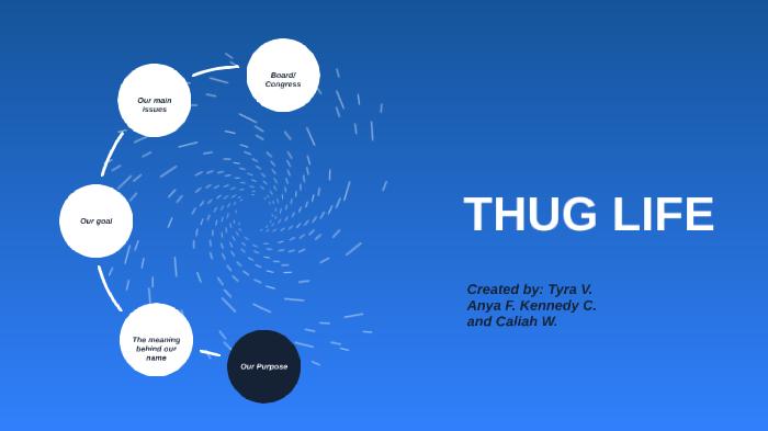 THUG LIFE by Caliah Wilder on Prezi Next