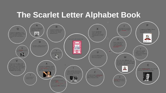 The Scarlet Letter Alphabet Book by Tali Gorbenko on Prezi