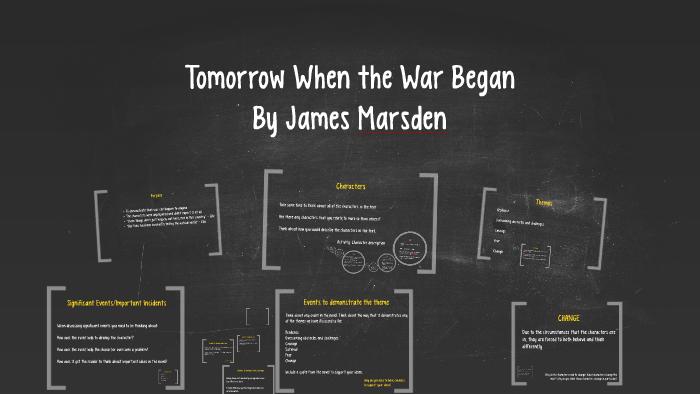 tomorrow when the war began character analysis