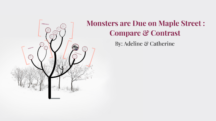 Monsters Are Due On Maple Street By Adeline Coenen
