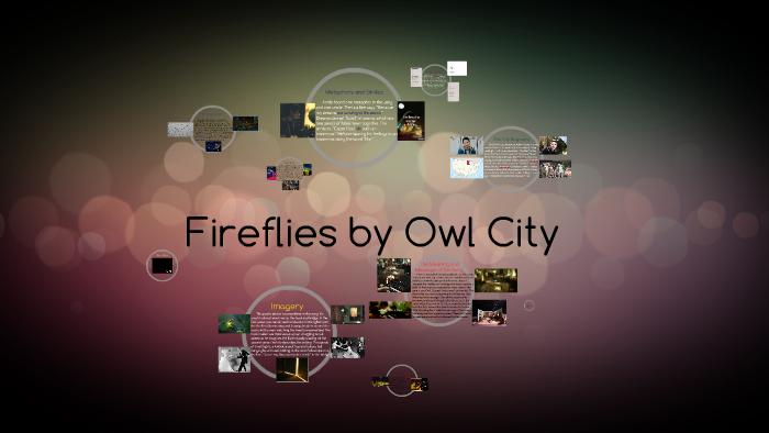firefly by owl city