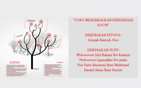 Cara Mengekalkan Perpaduan Kaum By Khairil Hafizi